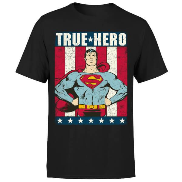 DC Originals Superman True Hero  Men's T-Shirt - Black