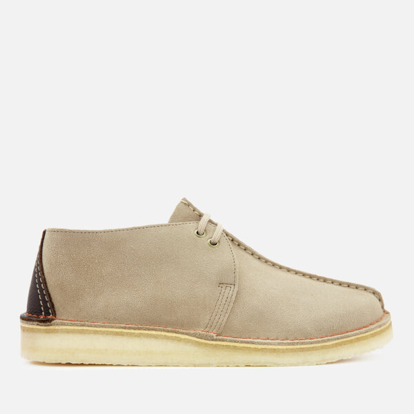 617b39770991 Clarks Originals Men s Desert Trek Suede Shoes - Sand  Image 1
