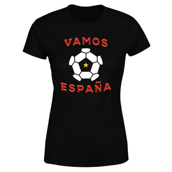 Vamos Espana Women's T-Shirt - Black