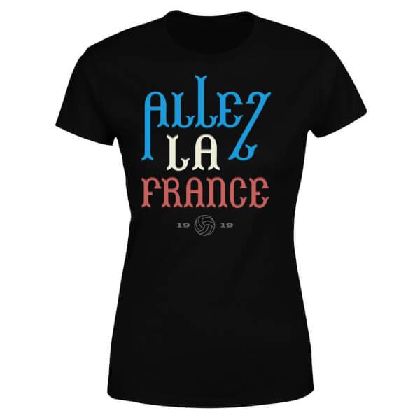 Allez La France Women's T-Shirt - Black