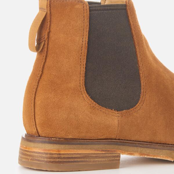 d083c041cd09d0 Clarks Men s Clarkdale Gobi Suede Chelsea Boots - Dark Tan Mens ...