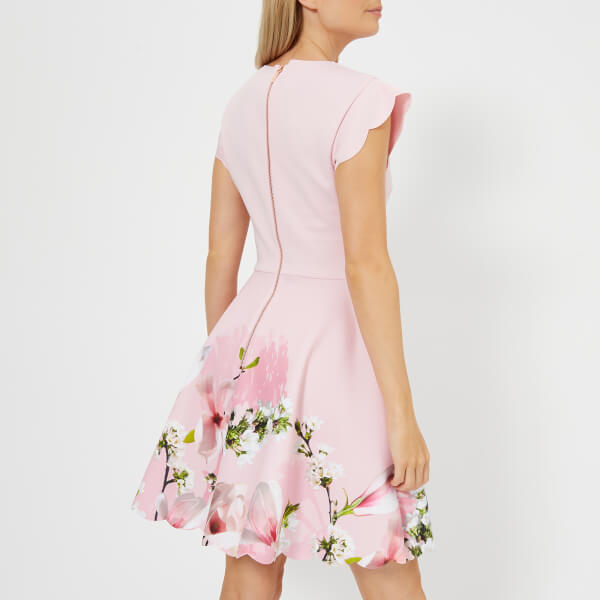 a215e0d6d4dd8 Ted Baker Women s Grettae Harmony Skater Dress - Pink Womens ...