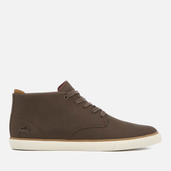 Lacoste Men's Esparre Chukka 318 1 Leather/Suede Derby Chukka Boots - / - UK 10 qTLc1h