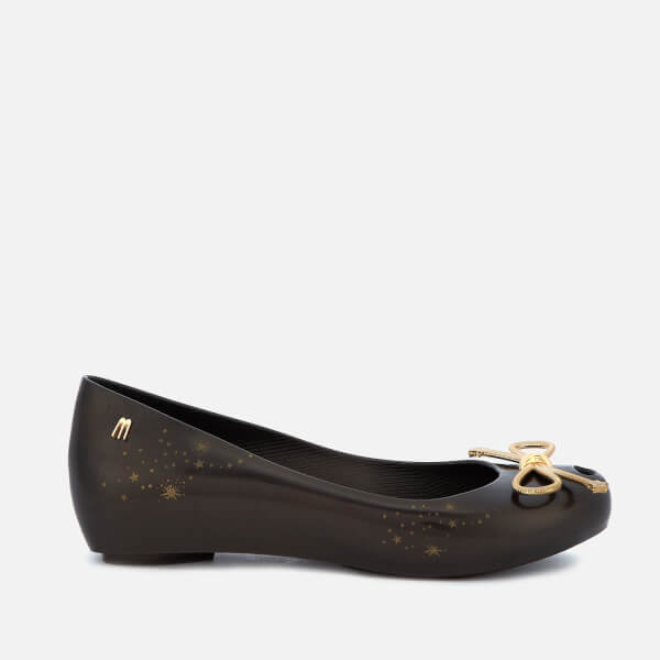 8de3613091 Melissa Women's Ultragirl Elements Ballet Flats - Black | FREE UK ...