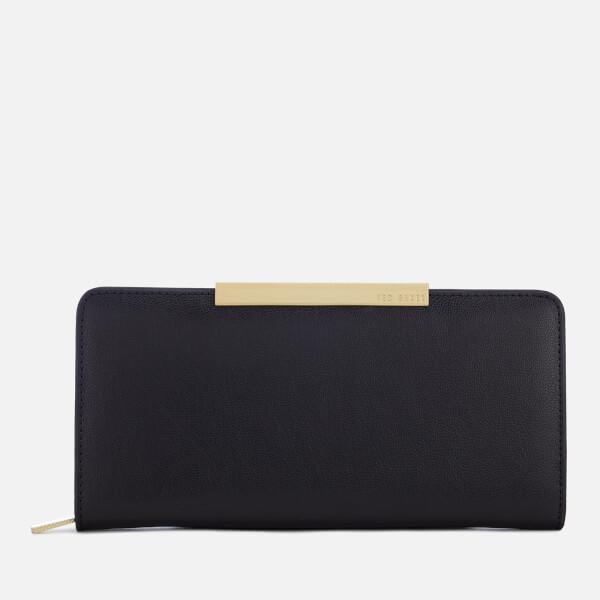 574b51bcedd Ted Baker Women's Pelle Textured Zip Matinee Purse - Black: Image 1