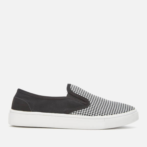 Superdry Women's Superdry Core Slip On Trainers - Mono Dogtooth