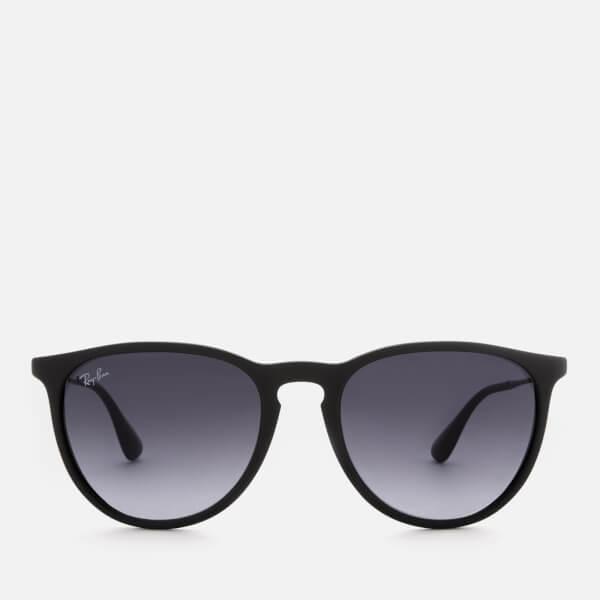 Ray Ban Erika Wayfarer Sunglasses   Rubber Black by My Bag