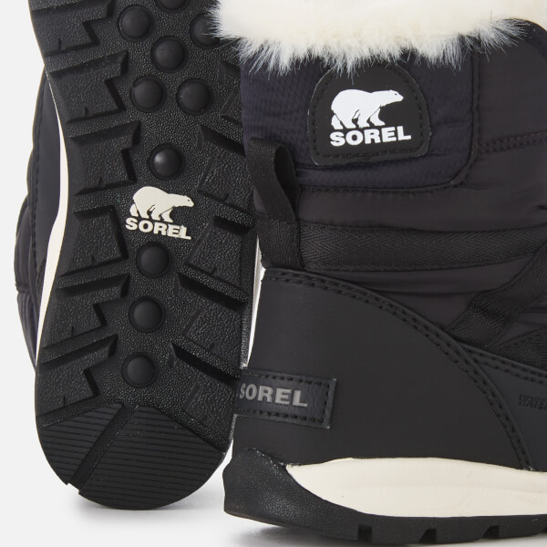 c79d06ffe4 Sorel Women's Whitney Short Lace Boots - Black | FREE UK Delivery ...