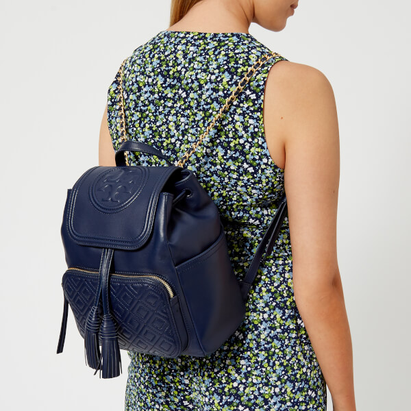 「TORY BURCH WOMEN'S FLEMING BACKPACK - ROYAL NAVY」的圖片搜尋結果