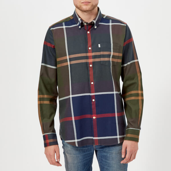 Barbour Men's Dunoon Long Sleeve Shirt - Tartan