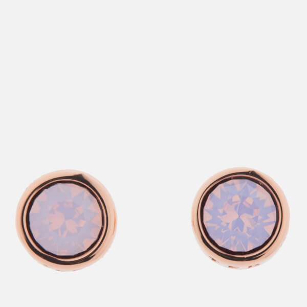 e4eb89f594cd Ted Baker Women s Sinaa  Swarovski Crystal Stud Earrings - Rose Gold Rose  Water Opal