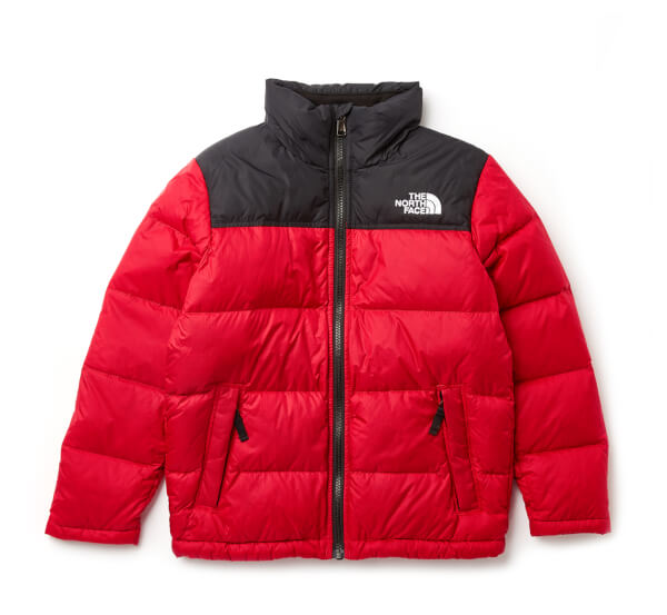 1047e3564 The North Face Boys  Nuptse Down Jacket - NF Red Clothing