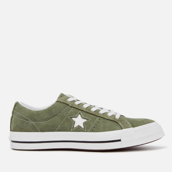 55fb690036 Converse Men's One Star Ox Trainers - Field Surplus/White | FREE UK ...
