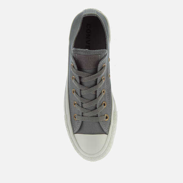 682d460df3a641 Converse Women s Chuck Taylor All Star Ox Trainers - Mason Mouse  Image 3