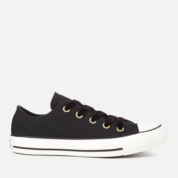 Converse Women's Chuck Taylor All Star Ox Trainers - Black/White