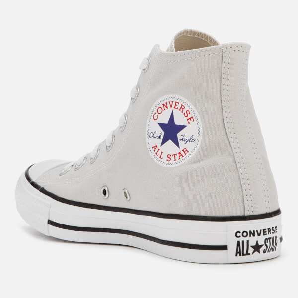 337c70657ad Converse Chuck Taylor All Star Seasonal Hi-Top Trainers - Mouse Grey  Image  2
