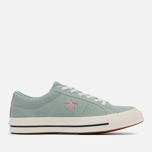 c508f7d49cd9bb Converse Women s One Star Ox Trainers - Mica Green Diffused Taupe Egret   Image