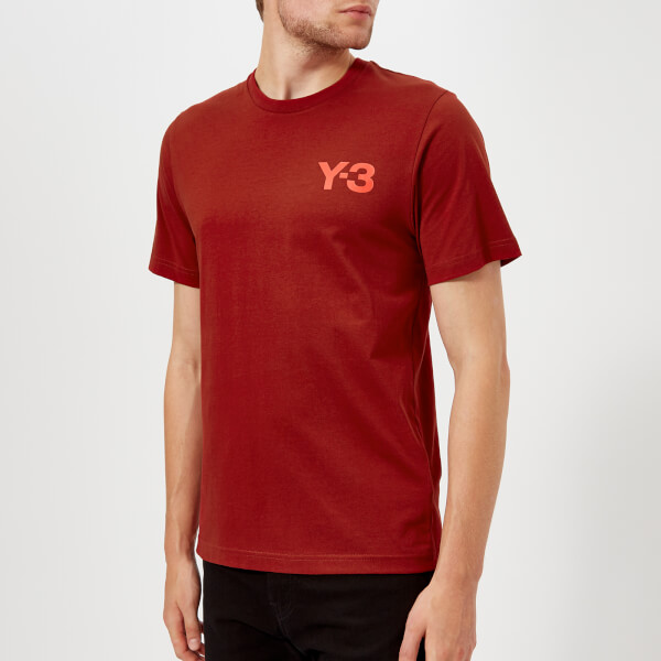 Y-3 Men's Classic Short Sleeve T-Shirt - Rust Red