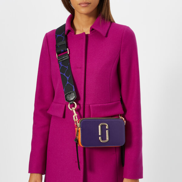 Marc Jacobs Women's Snapshot Cross Body Bag - Violet/Multi: Image 21