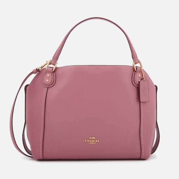 Coach Women's Leather Edie 28 Shoulder Bag - Rose