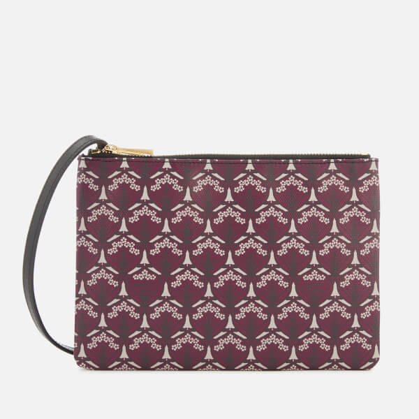 Liberty London Women's Iphis Bay Duo Pouch - Oxblood
