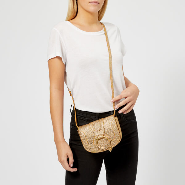 「SEE BY CHLOÉ WOMEN'S MINI HANA CROSS BODY BAG - SANDY BROWN」的圖片搜尋結果