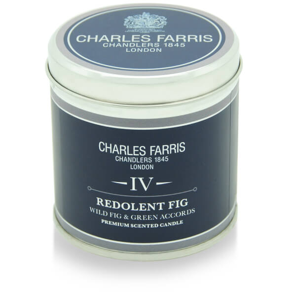 Charles Farris Signature Redolent Fig Tin Candle 300g