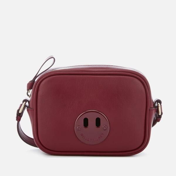Hill & Friends Women's Happy Mini Camera Bag - Oxblood