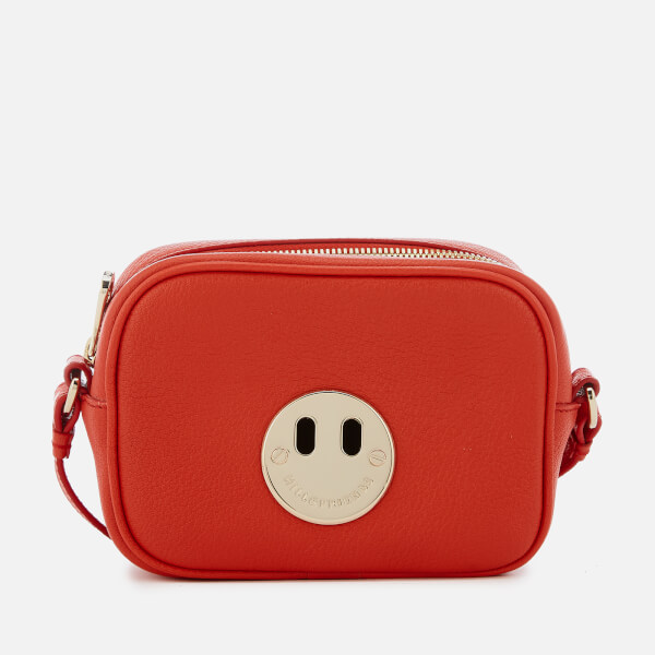 Hill & Friends Women's Happy Mini Camera Bag - Hot Red