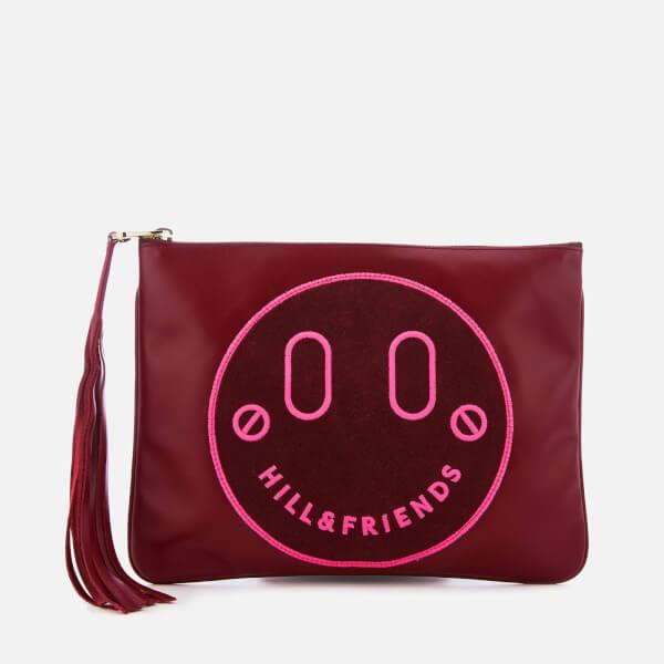 Hill & Friends Women's Slouchy Pouch Bag - Oxblood