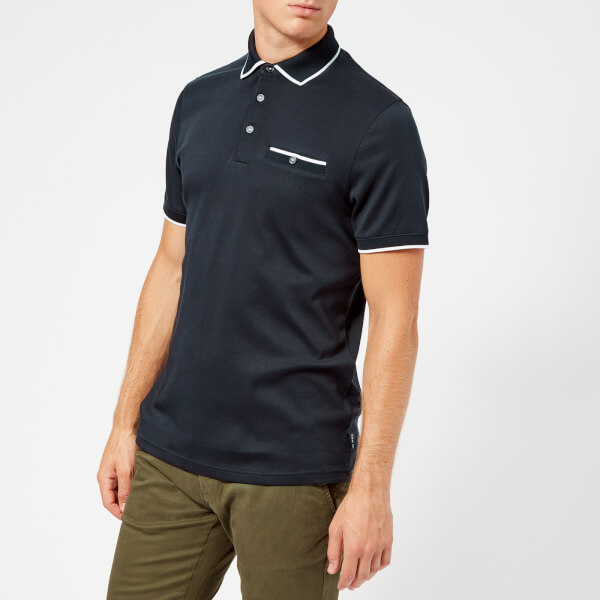 3a55f23d107558 Ted Baker Men s Jelly Polo Shirt - Navy Clothing