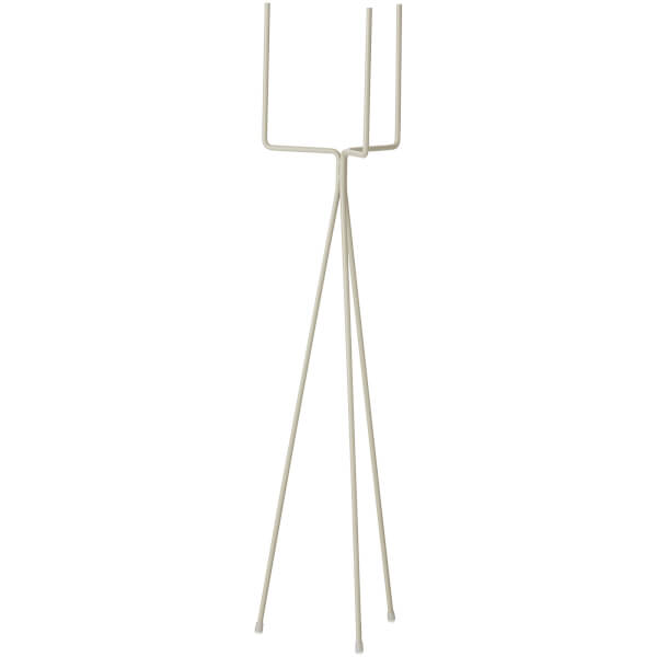 Ferm Living Plant Stand - High - Light Grey