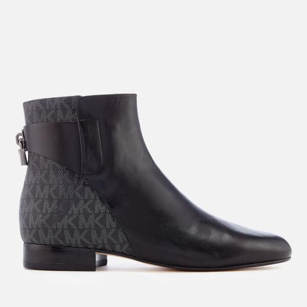 MICHAEL MICHAEL KORS Women's Mira Flat Ankle Boots - Black