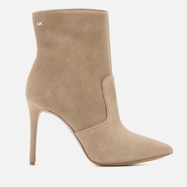 28902370d986 MICHAEL MICHAEL KORS Women s Blaine Heeled Ankle Boots - Dark Dune  Image 1
