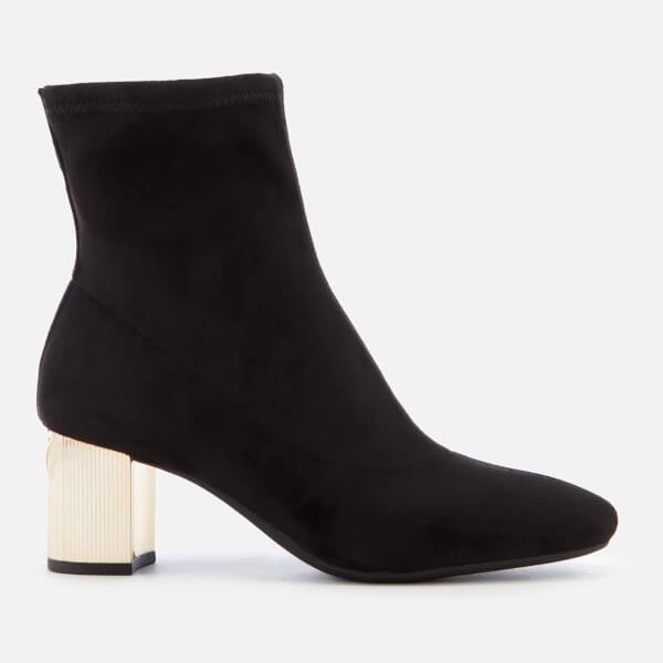 MICHAEL MICHAEL KORS Women's Paloma Heel Ankle Boots - Black