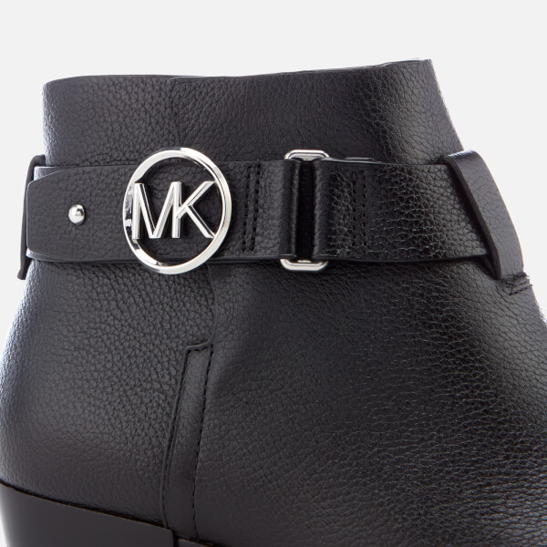 a81840f9a33c MICHAEL MICHAEL KORS Women s Harland Ankle Boots - Black Clothing ...