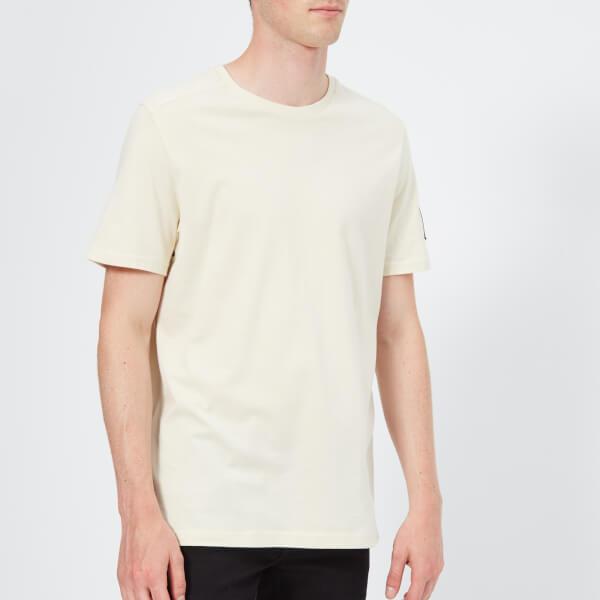 The North Face Men's Short Sleeve Fine 2 T-Shirt - Vintage White/Asphalt Grey