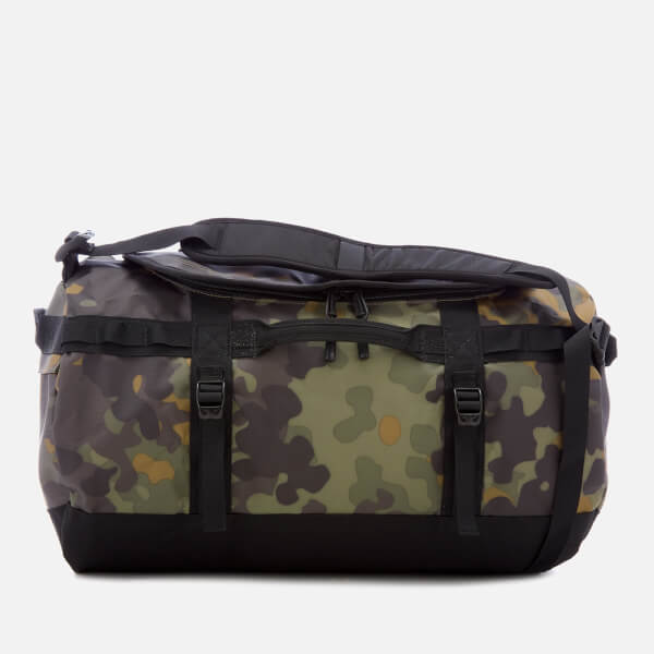 The North Face Small Base Camp Duffel Bag New Taupe Green Image 1