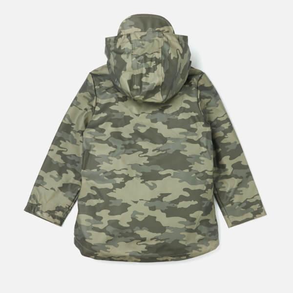 b4d5e85d0 Joules Boys  Dermot Waterproof Coat - Olive Camo Clothing