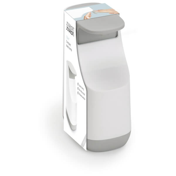 Joseph Joseph Slim Compact Soap Dispenser - White/Grey