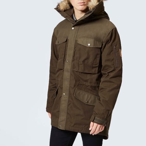 edc5556111d Fjallraven Men s Singi Winter Jacket - Dark Olive Clothing