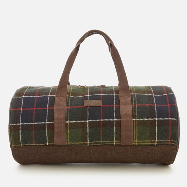 5a7260e834 Barbour Men s Hardwick Holdall Bag - Classic Tartan  Image 1