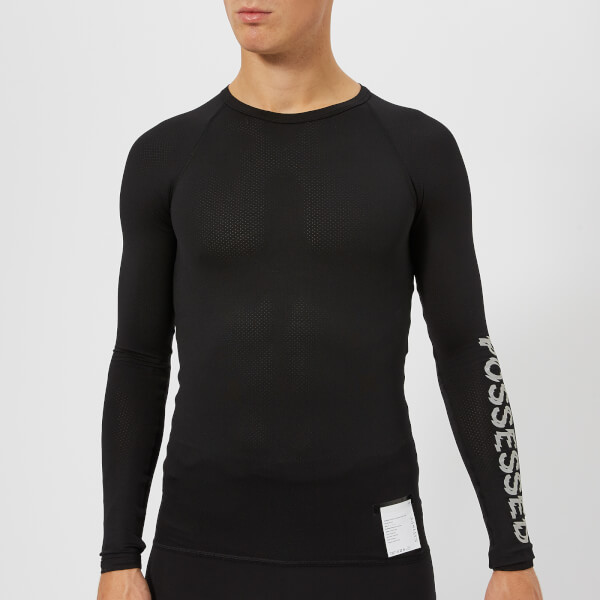 Satisfy Men's Coffee Thermal Baselayer Long - Black