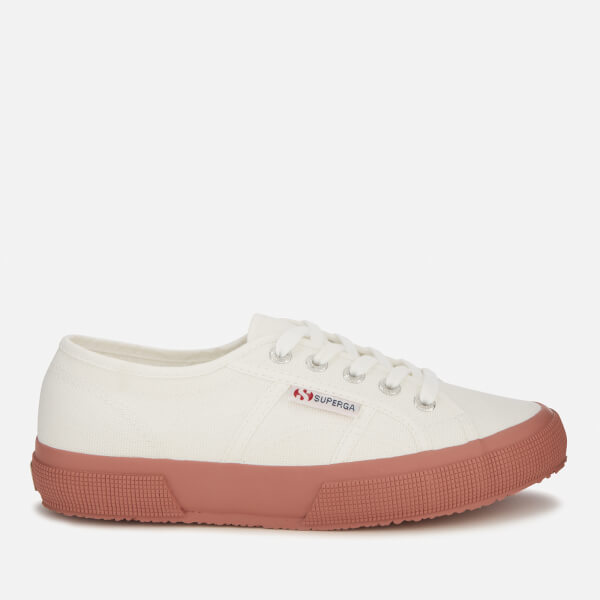 6ac9ed7950f Superga Women s 2750 Cotu Classic Trainers - White Dusty Rose  Image 1