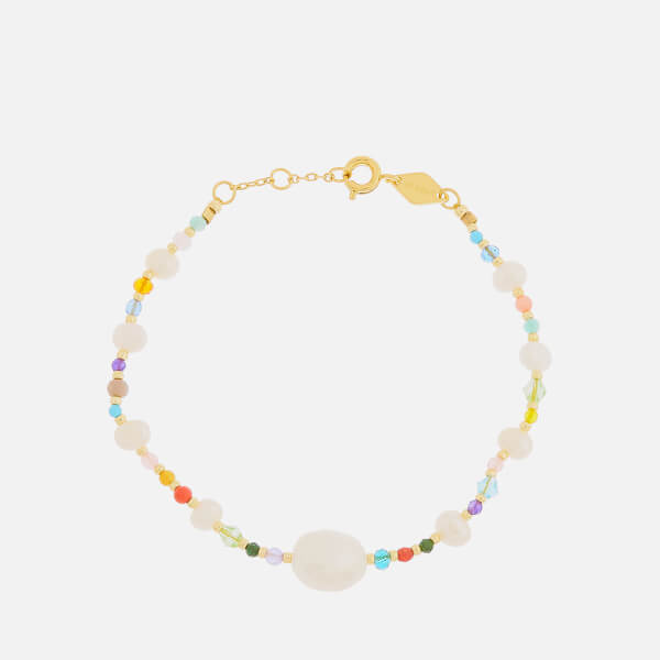 Anni Lu Women's Rock and Sea Circus Bracelet - Gold