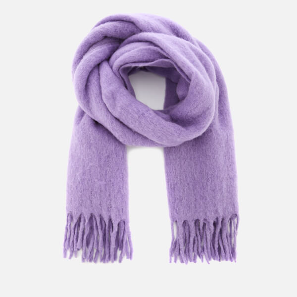 Whistles Women's Open Weave Blanket Scarf - Lilac
