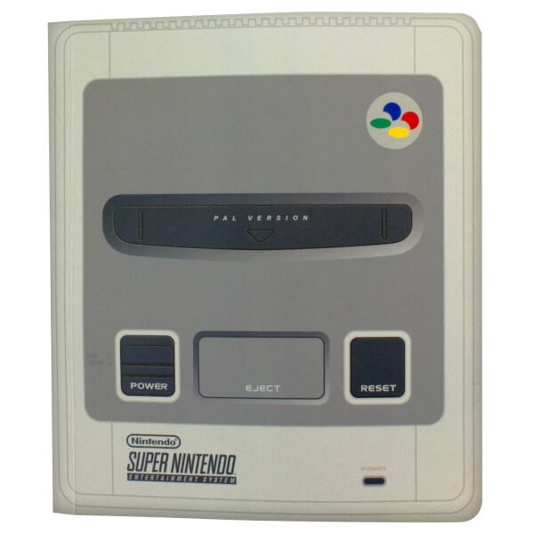 Super Nintendo Entertainment System Notebook