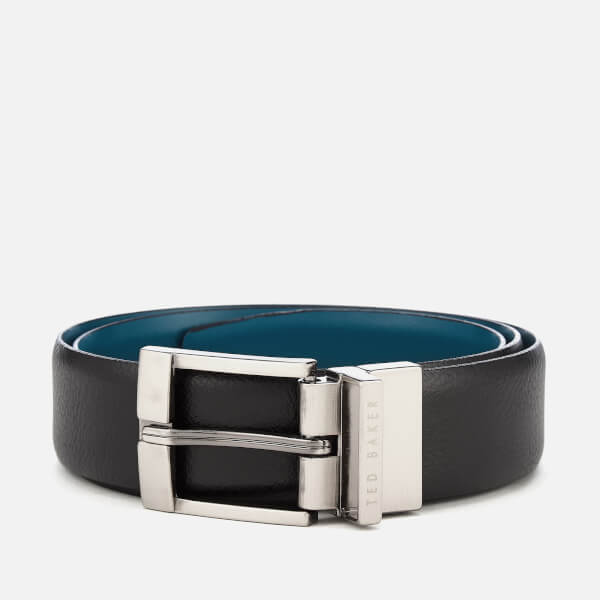 Ted Baker Men's Longas Leather Belt - Black