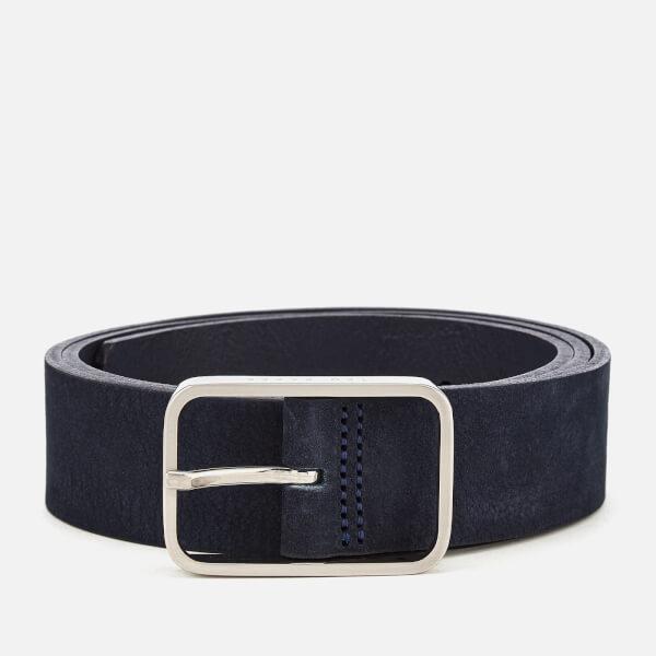 7b6d6b8ace8c2 Ted Baker Men s Escobar Nubuck Belt - Blue Mens Accessories