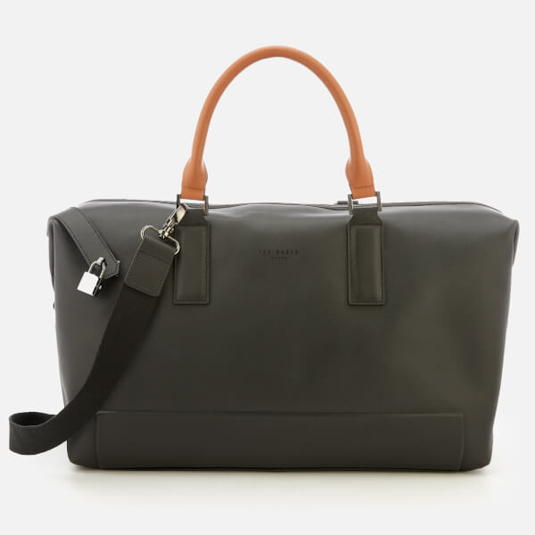 Ted Baker Men's Potts Micro Perf Leather Holdall Bag - Black
